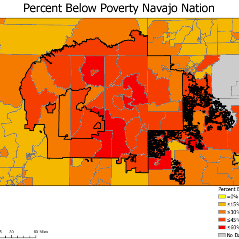 Percent Below Poverty Navajo Nation