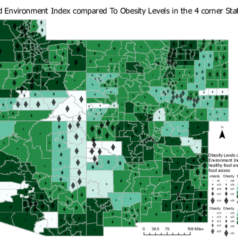 Food Environment Index compared to Obesity Levels.pdf