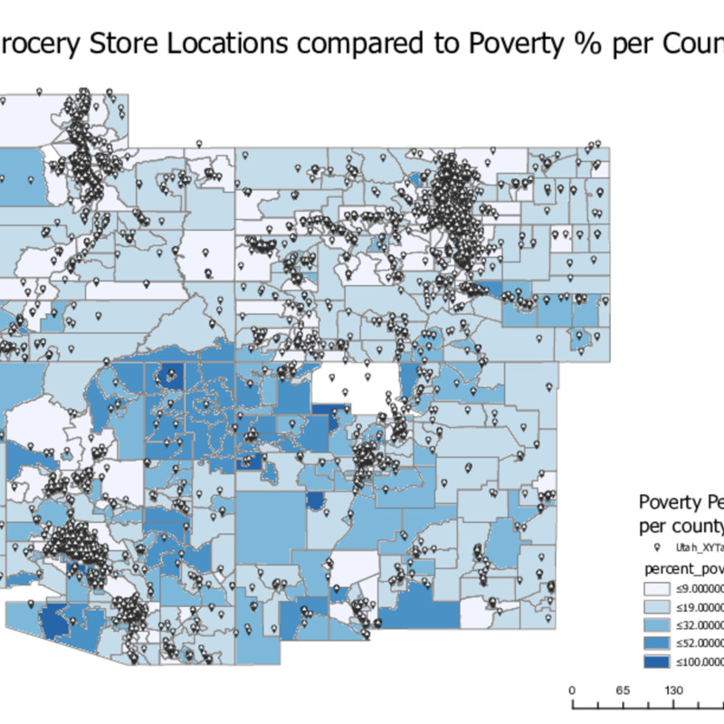 Povery Rates Compared to Grocery Store Locations.pdf